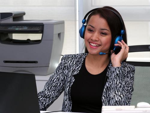 making sales calls
