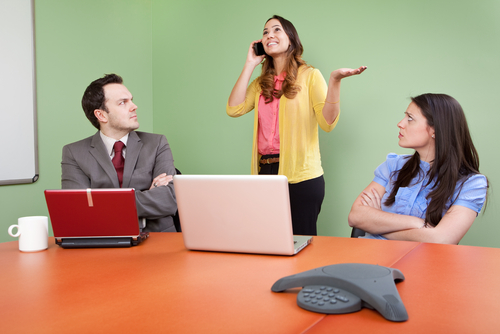 bad manners in sales