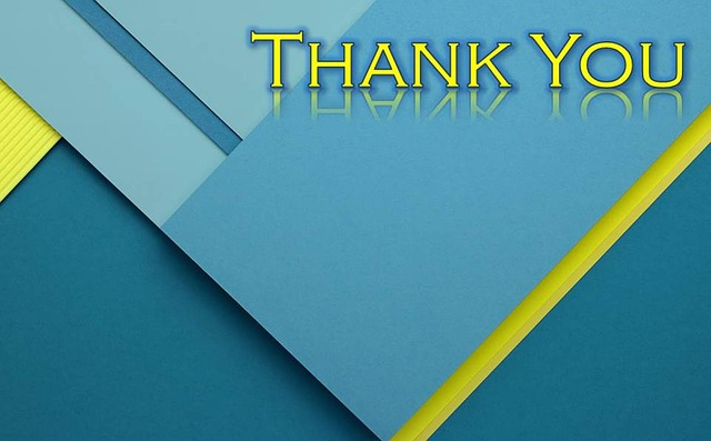 Thank you cards for salespeople