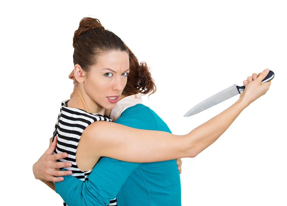 beware of back stabbers