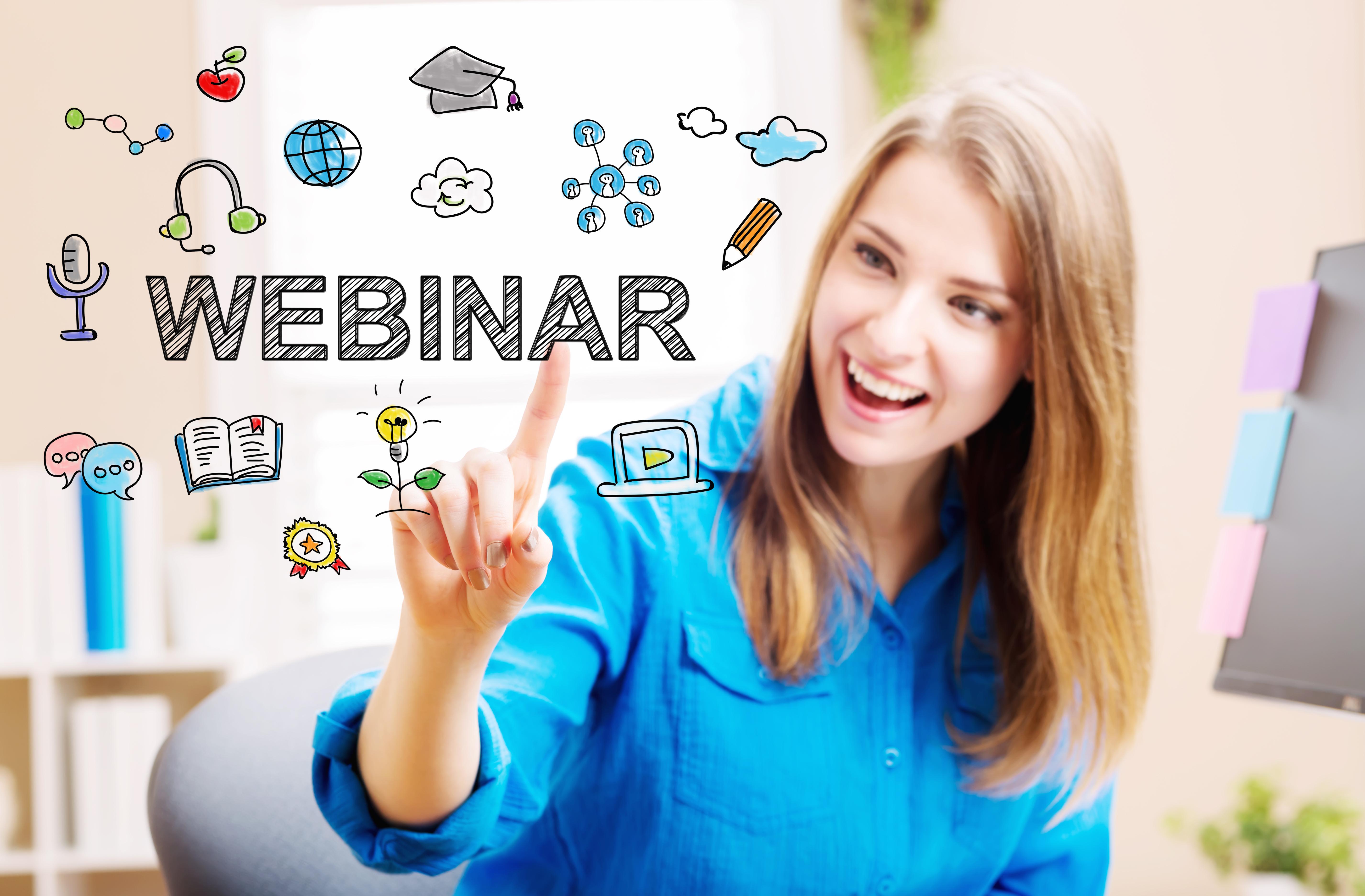 how to conduct webinars